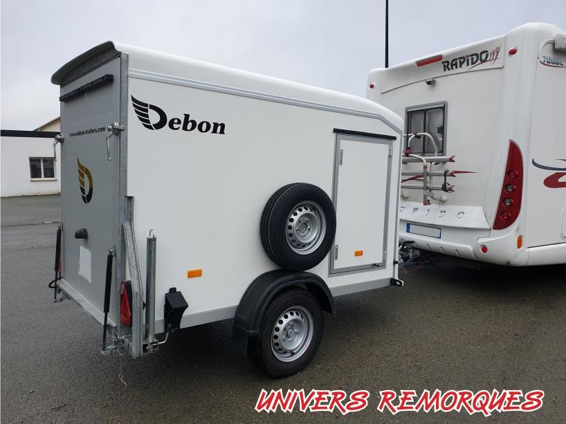 REMORQUE FOURGON DEBON C255