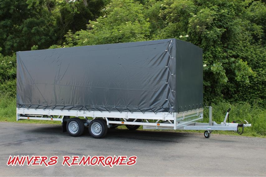 REMORQUE PLATEAU HULCO MEDAX 502 x 223 cm (MEDAX-2 3000 / MEDAX-2 3500 / MEDAX-3 3500)