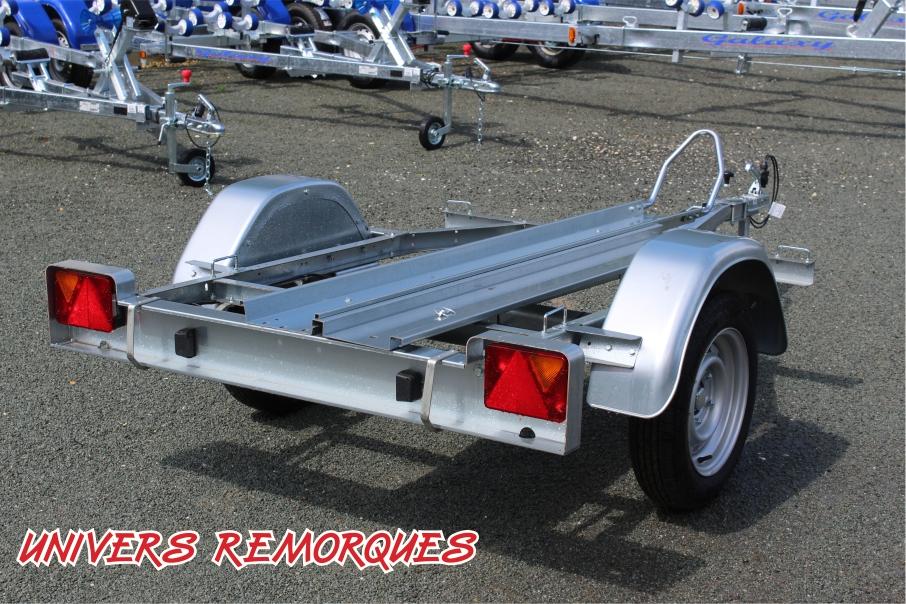 REMORQUE PORTE MOTO FRANC 1 RAIL TR900569